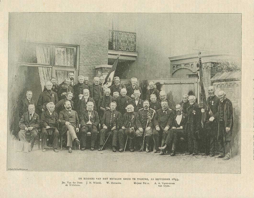 De ridders bijeen in Tilburg