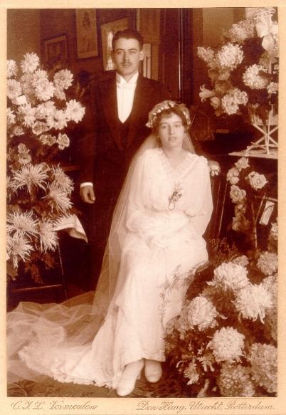 Nakomelingen van het Bruidspaar Cor Maier en Greetje Goossens