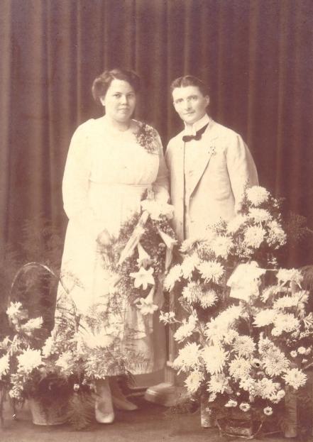 Nakomelingen van het Bruidspaar Leo Menting en Suze Buno Heslinga