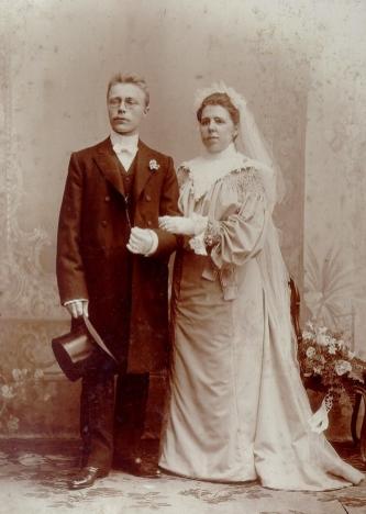 Nakomelingen van het Bruidspaar Adrianus van Dijk en Geertruida Jonas
